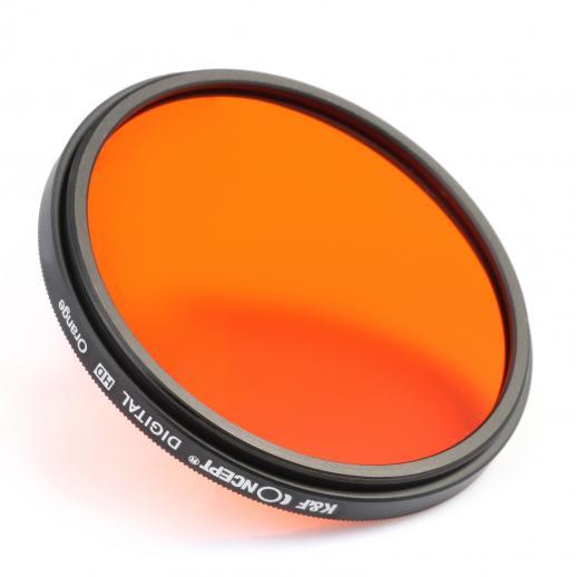 k f concept ensemble de filtre couleur 52mm orange bleu gris rouge vert marron jaune. Black Bedroom Furniture Sets. Home Design Ideas